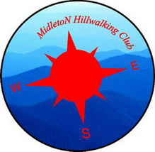Midleton Hillwalking Club Compass Logo